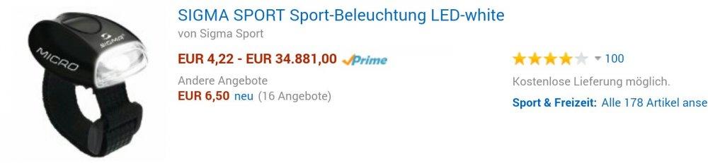 verrechnet sich Amazon?